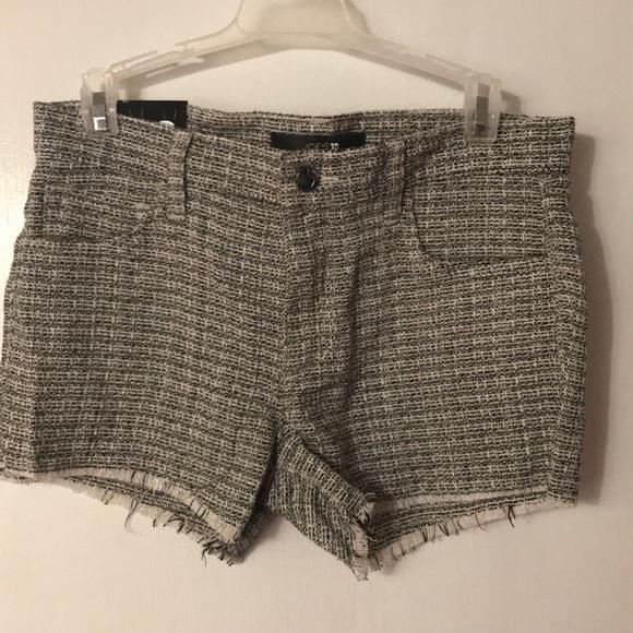 Joe's Jeans Pants - Joe's Jeans. Black and white plaid shorts. Size 26